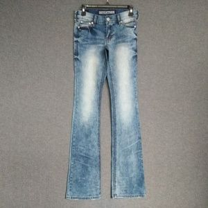 Affliction Jade Low Rise BootCut Jeans